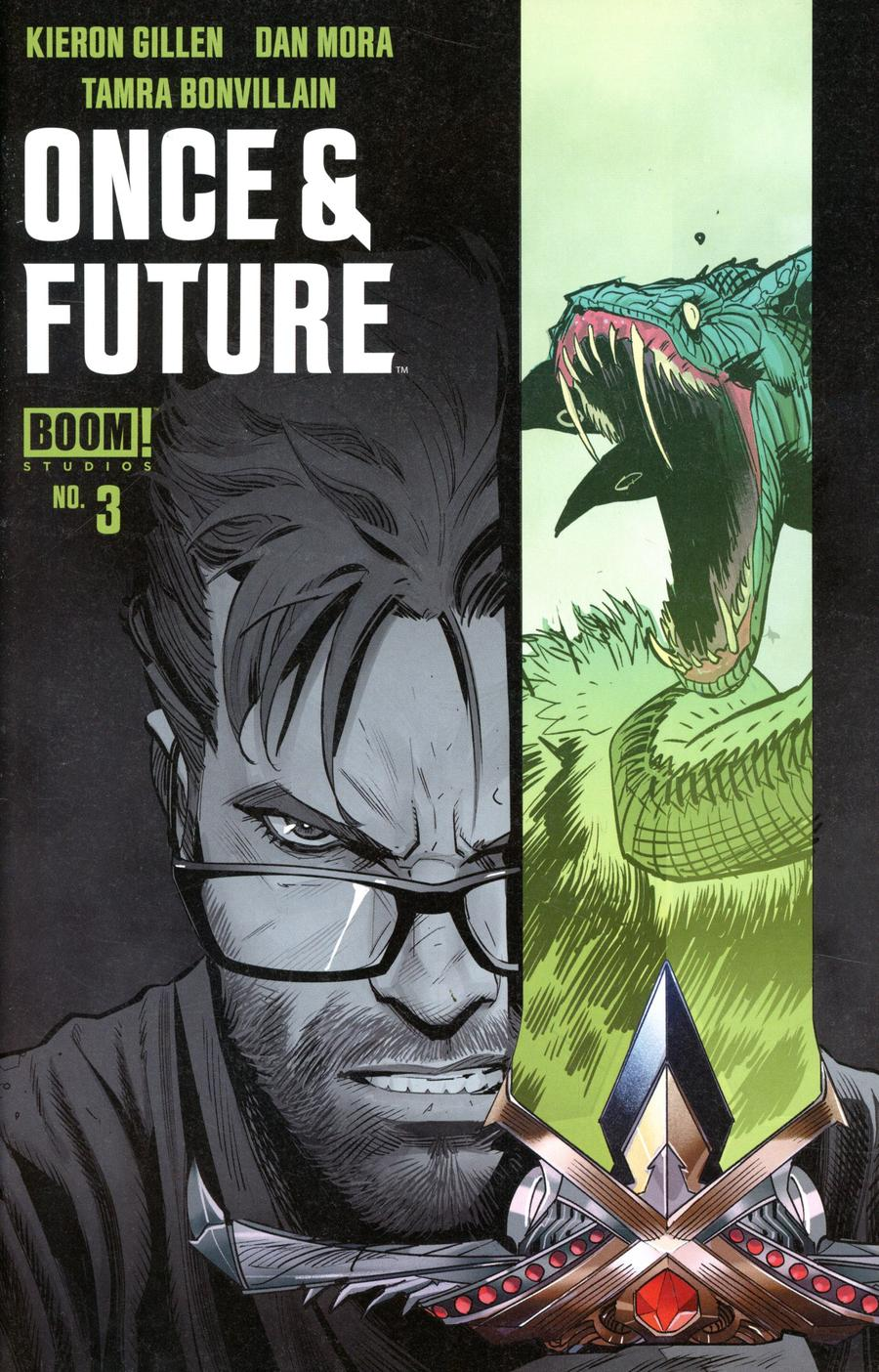 Once & Future #3 Cover C 3rd Ptg