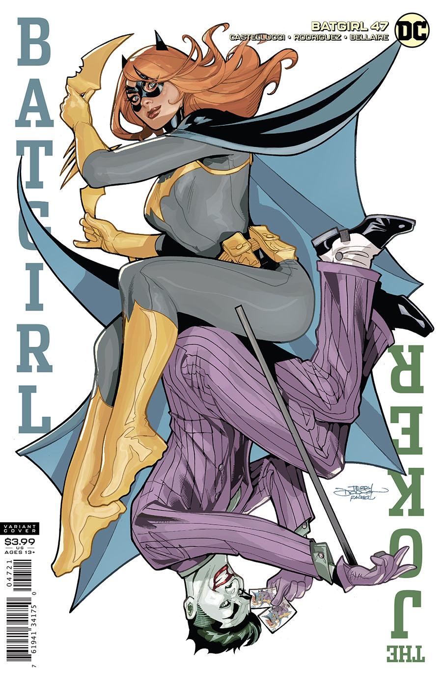 Batgirl Vol 5 #47 Cover B Variant Terry Dodson & Rachel Dodson Cover (Joker War Tie-In)