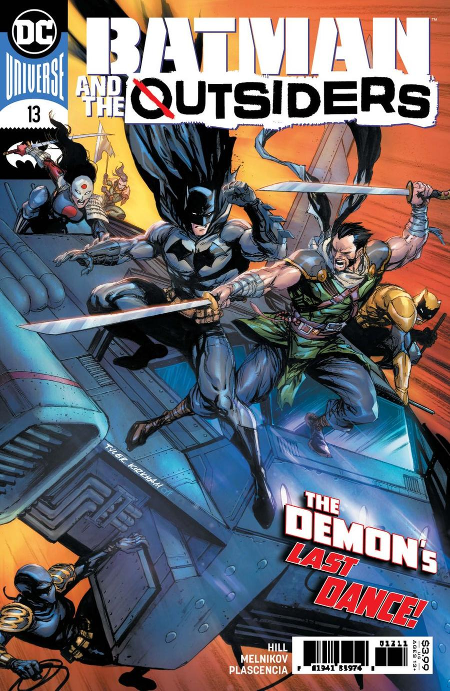 Batman And The Outsiders Vol 3 #13 Cover A Regular Tyler Kirkham Cover