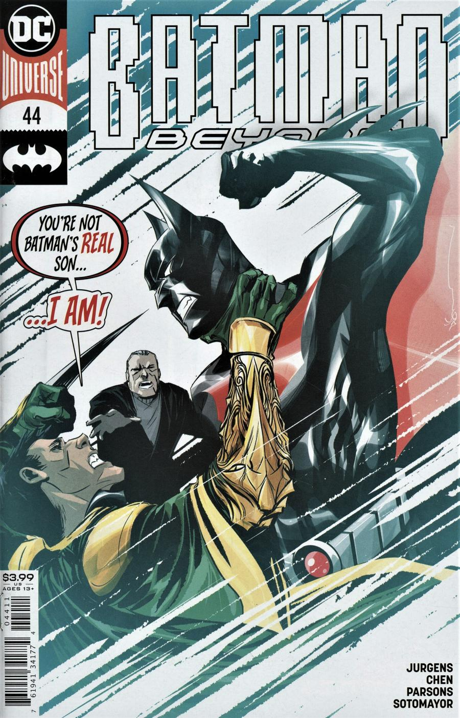 Batman Beyond Vol 6 #44 Cover A Regular Dustin Nguyen Cover