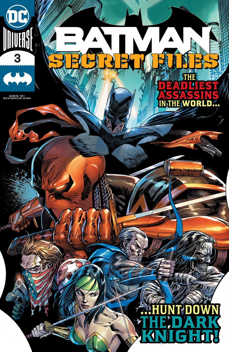 Batman Secret Files Vol 2 #3