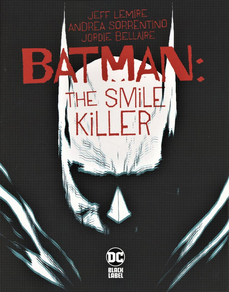 Batman Smile Killer #1 Cover A Regular Andrea Sorrentino Cover