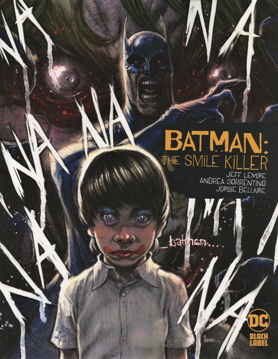 Batman Smile Killer #1 Cover B Variant Kaare Andrews Cover