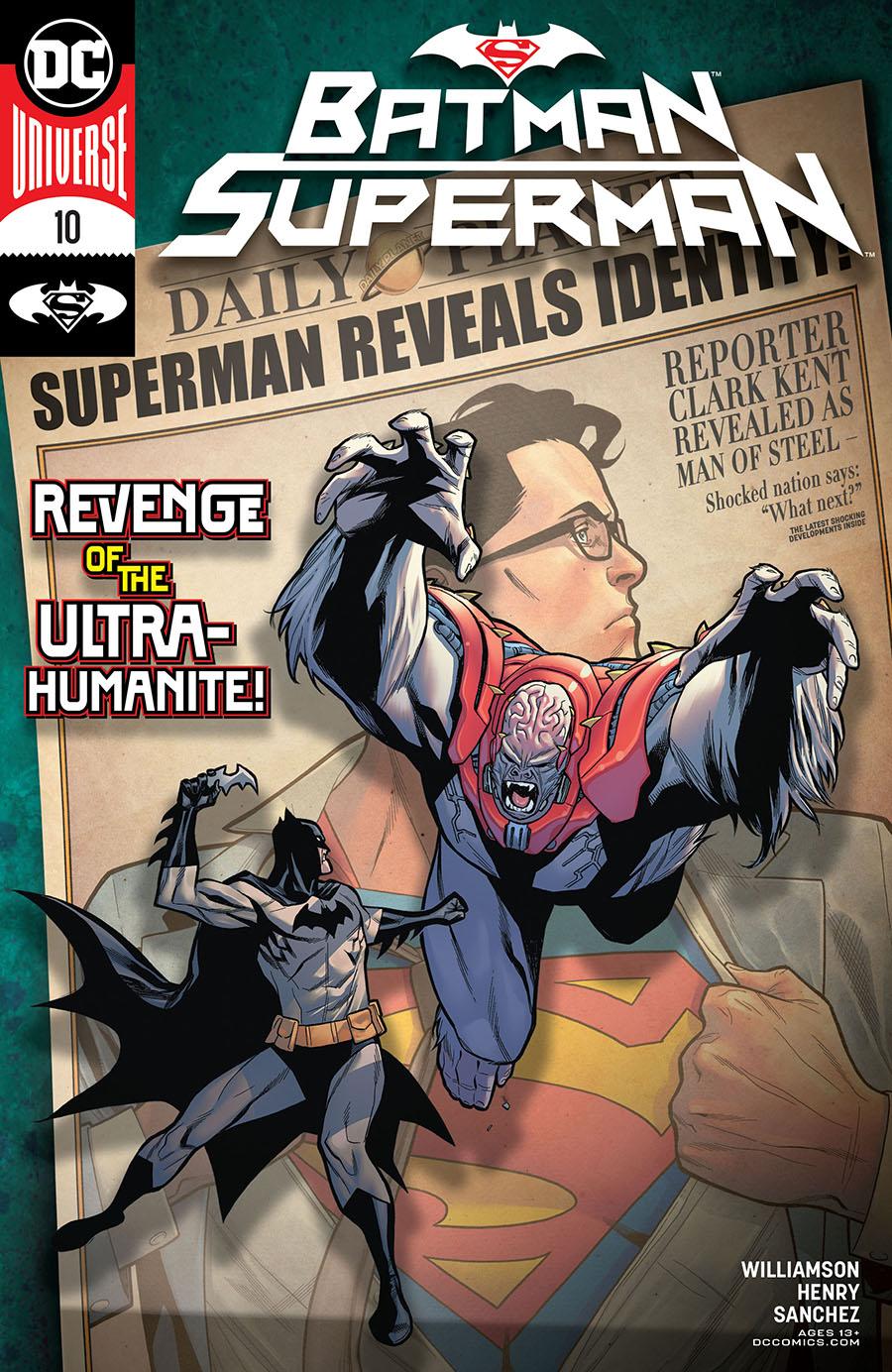 Batman Superman Vol 2 #10 Cover A Regular Clayton Henry Cover