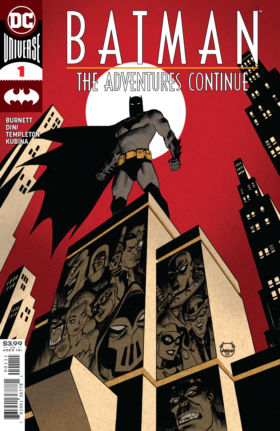 Batman The Adventures Continue #1 Cover A Regular Dave Johnson Cover