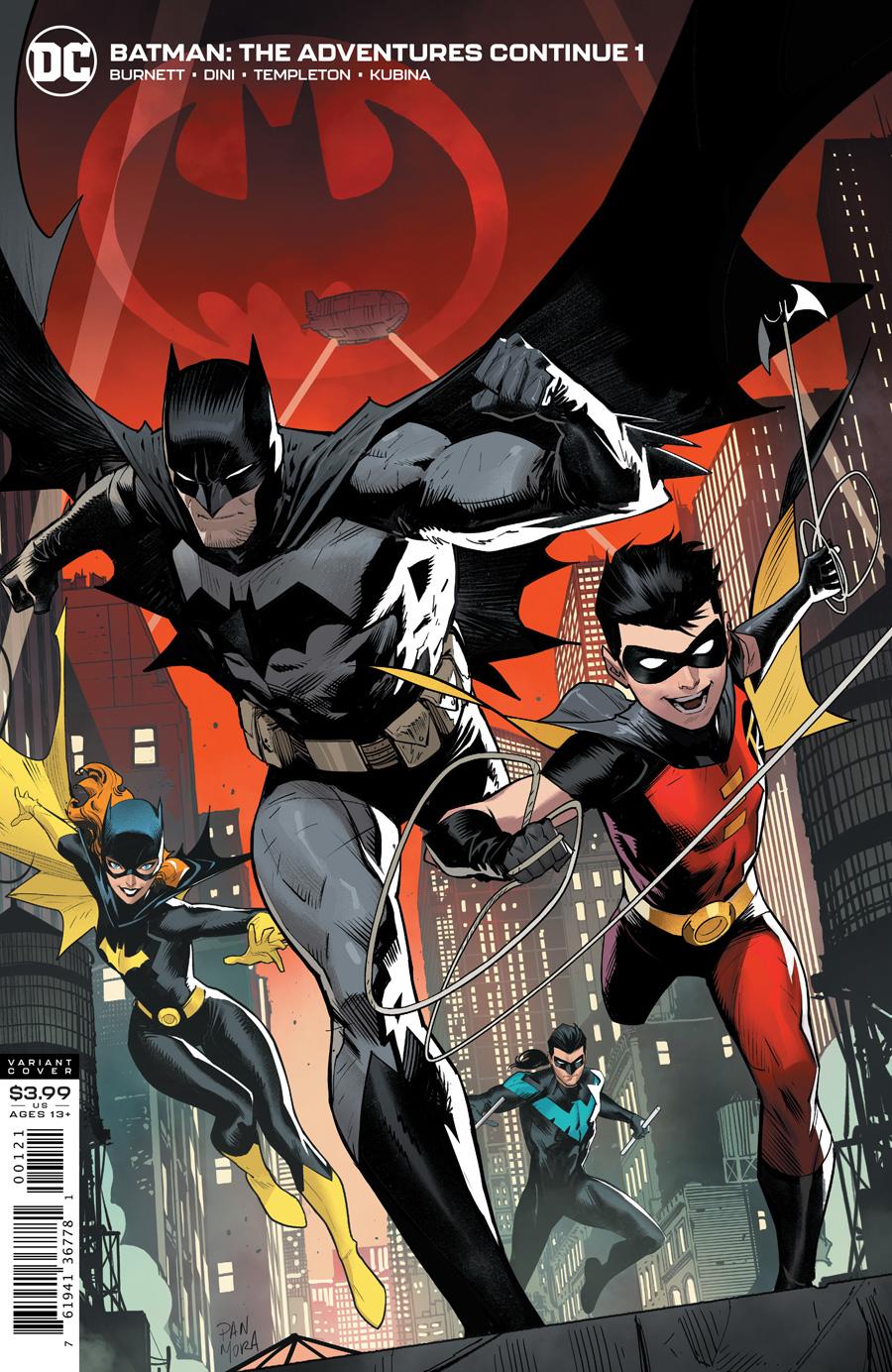 Batman The Adventures Continue #1 Cover B Variant Dan Mora Cover