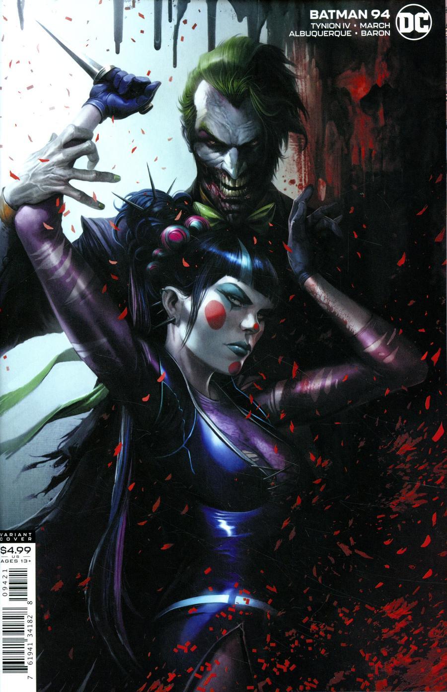 Batman Vol 3 #94 Cover B Variant Francesco Mattina Card Stock Cover