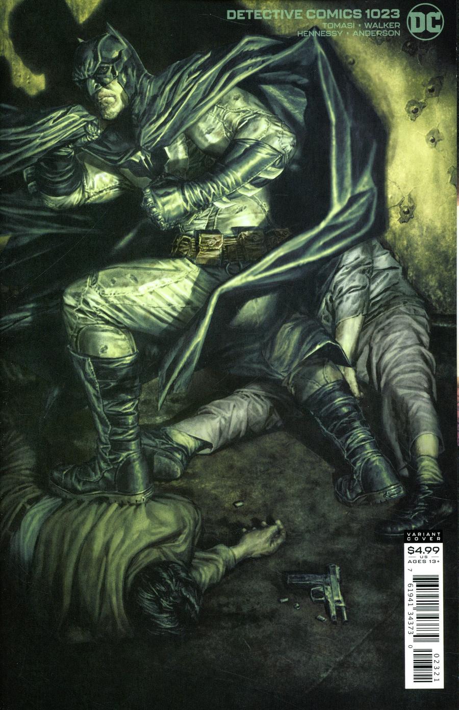 Detective Comics Vol 2 #1023 Cover B Variant Lee Bermejo Card Stock Cover (Joker War Tie-In)