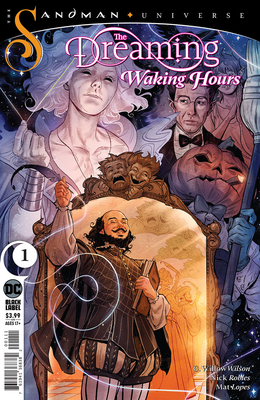 Dreaming Waking Hours #1 Cover A Regular Nick Robles Cover