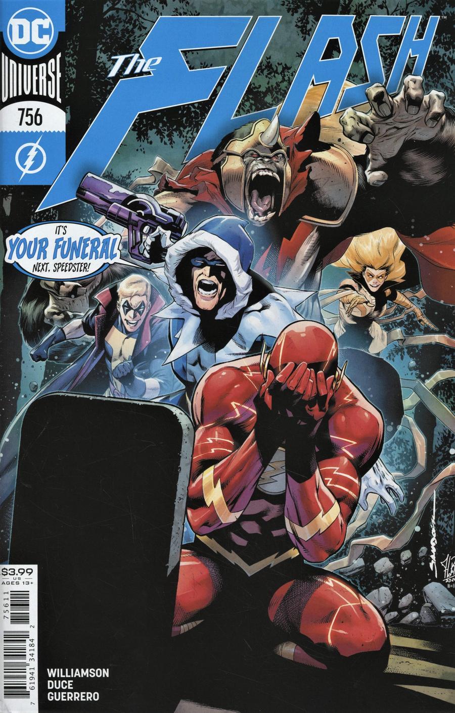 Flash Vol 5 #756 Cover A Regular Rafa Sandoval & Jordi Tarragona Cover