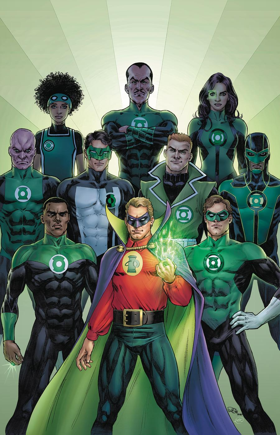 Green Lantern 80th Anniversary 100-Page Super Spectacular #1 Cover B Variant Nicola Scott 1940s Cover
