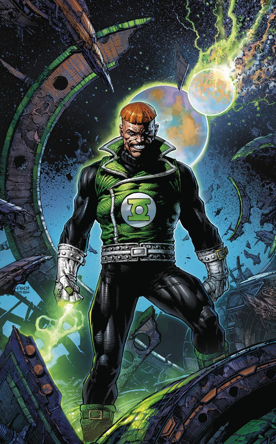 Green Lantern 80th Anniversary 100-Page Super Spectacular #1 Cover F Variant David Finch 1980s Cover