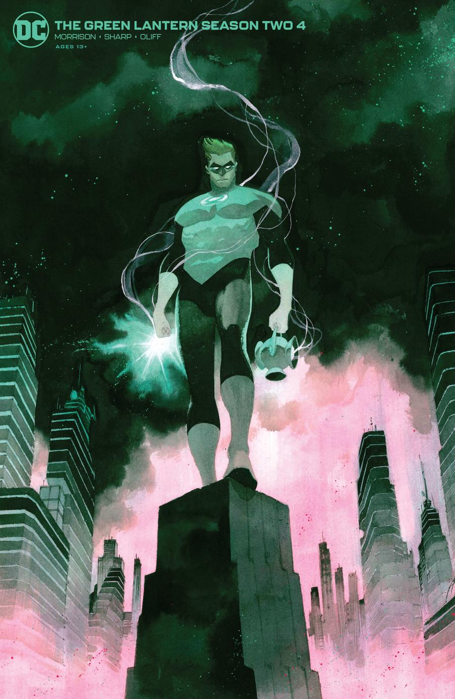 Green Lantern Vol 6 Season 2 #4 Cover B Variant Matteo Scalera Cover