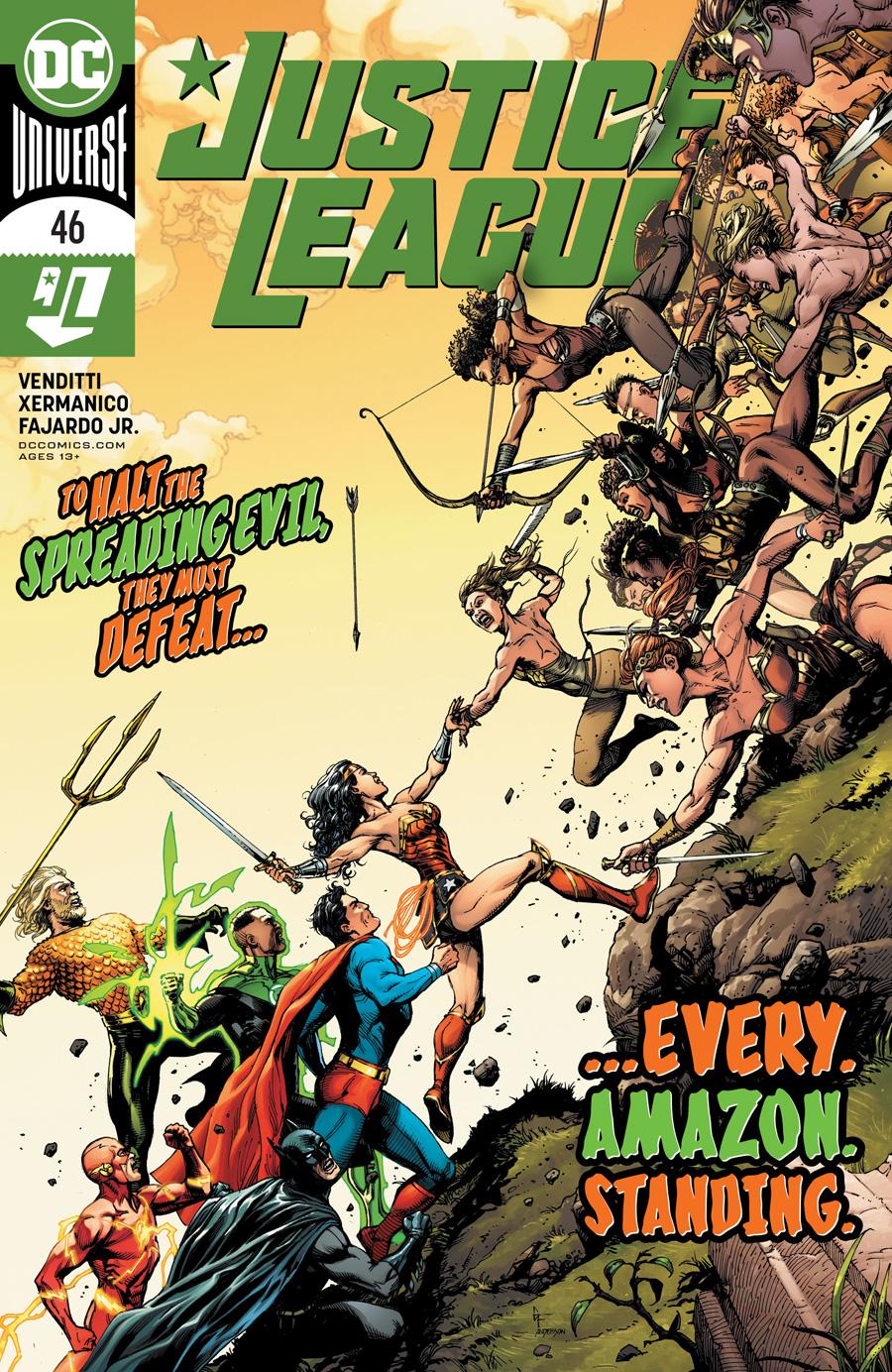 Justice League Vol 4 #46 Cover A Regular Gary Frank Cover