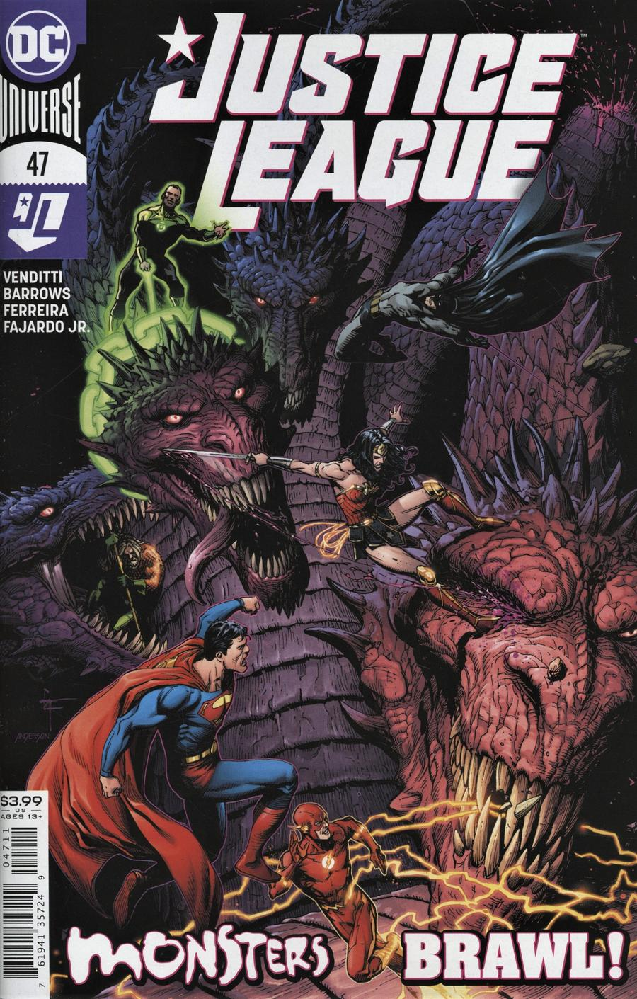 Justice League Vol 4 #47 Cover A Regular Gary Frank Cover
