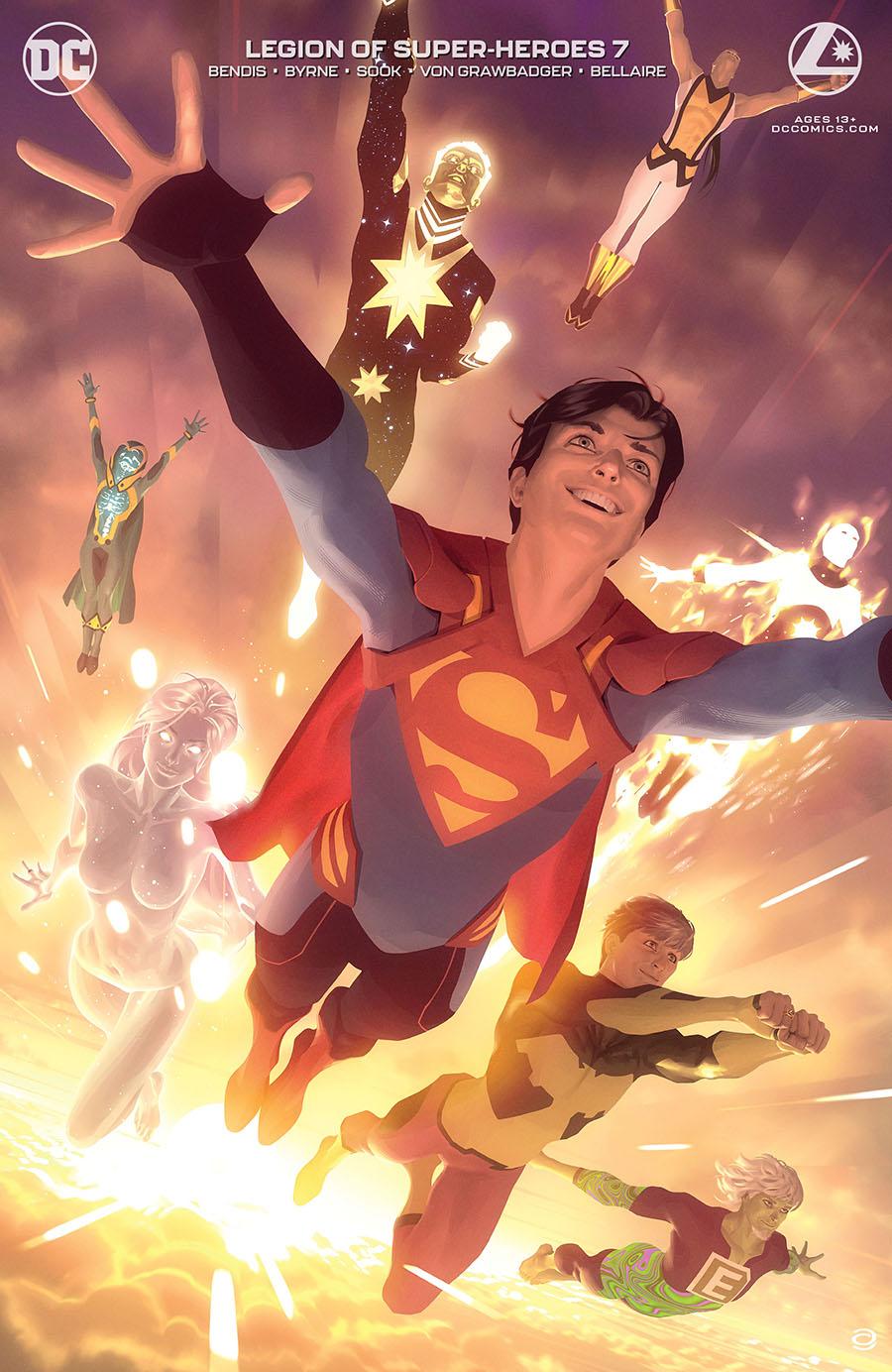 Legion Of Super-Heroes Vol 8 #7 Cover B Variant Alex Garner Card Stock Cover