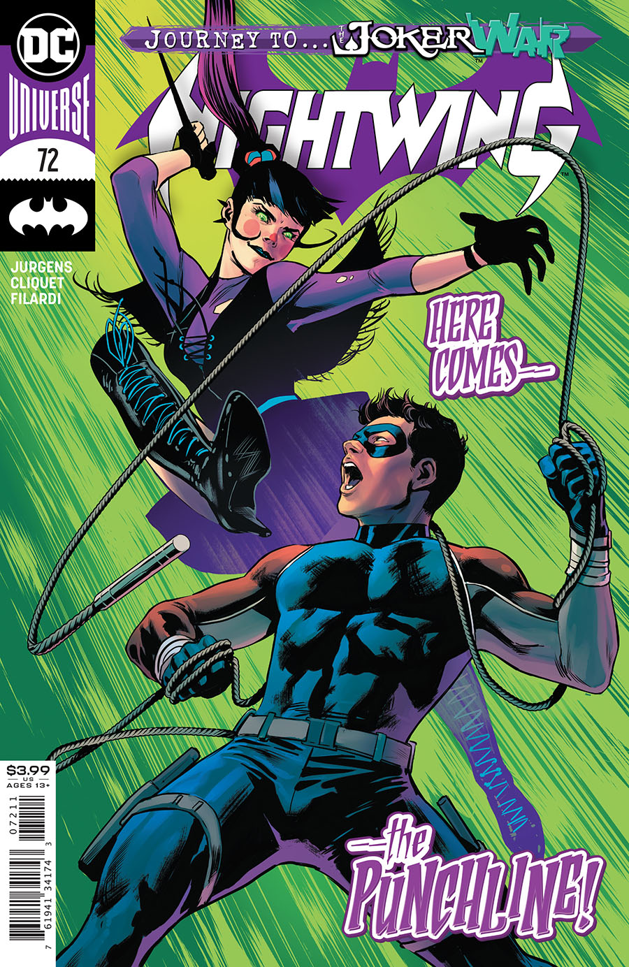 Nightwing Vol 4 #72 Cover A Regular Travis Moore Cover (Joker War Tie-In)