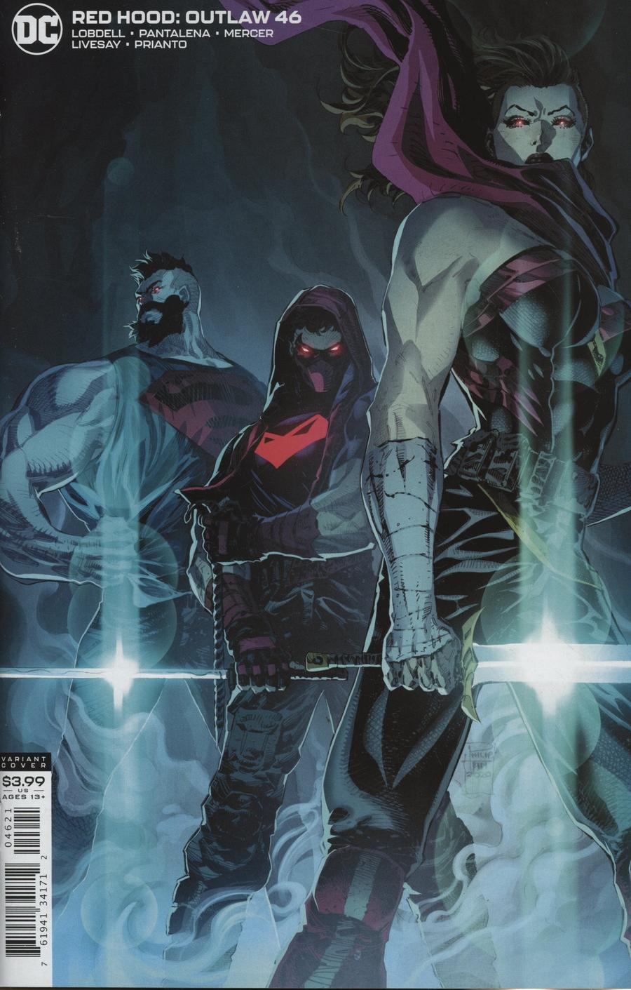 Red Hood Outlaw #46 Cover B Variant Philip Tan Cover