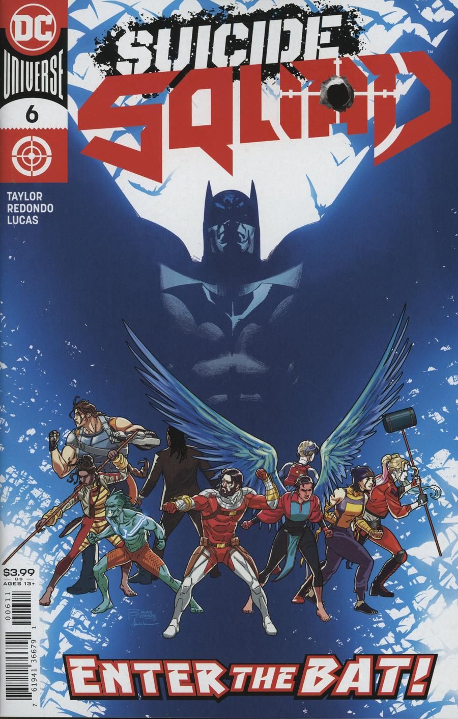 Suicide Squad Vol 5 #6 Cover A Regular Bruno Redondo Cover