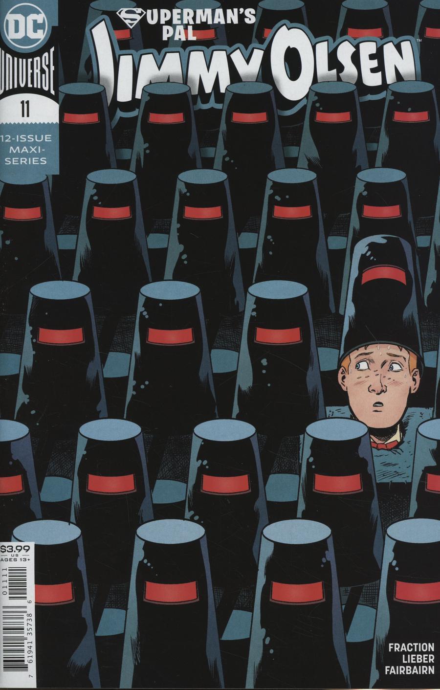 Supermans Pal Jimmy Olsen Vol 2 #11 Cover A Regular Steve Lieber Cover