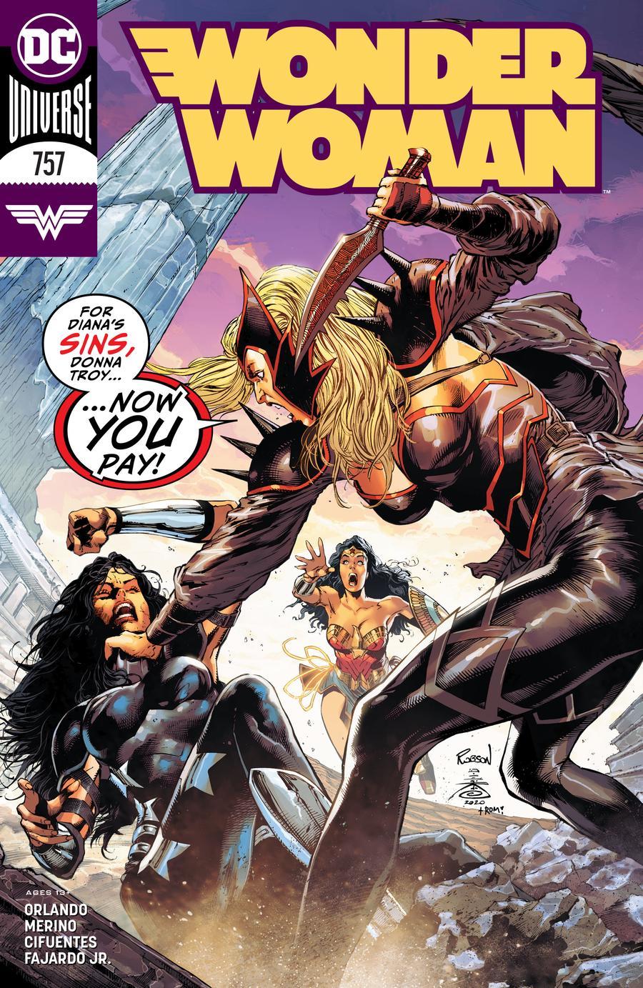 Wonder Woman Vol 5 #757 Cover A Regular Robson Rocha & Danny Miki Cover