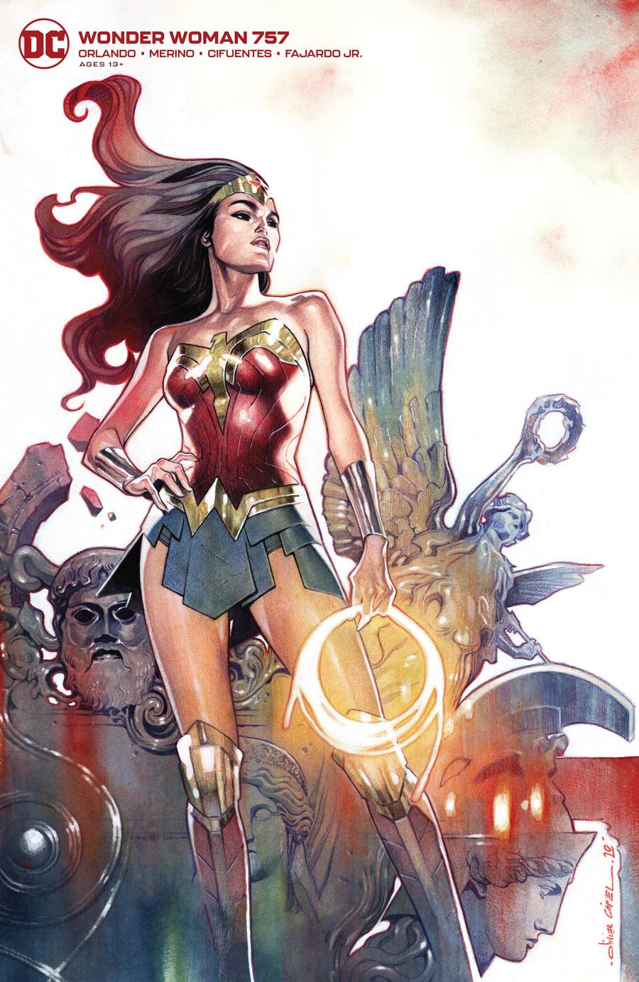 Wonder Woman Vol 5 #757 Cover B Variant Olivier Coipel Card Stock Cover