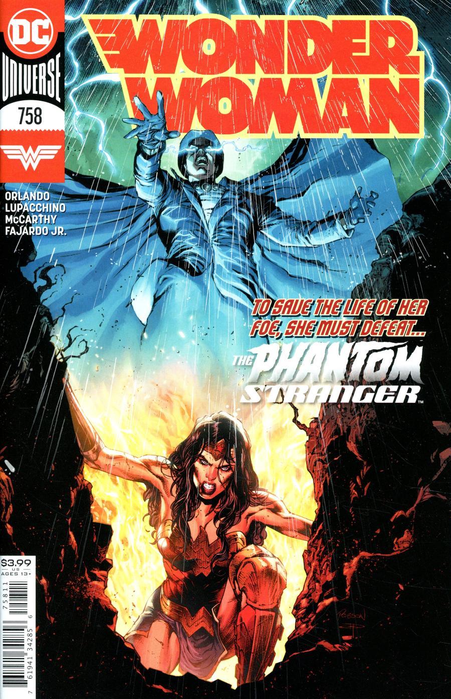 Wonder Woman Vol 5 #758 Cover A Regular Robson Rocha & Daniel Henriques Cover