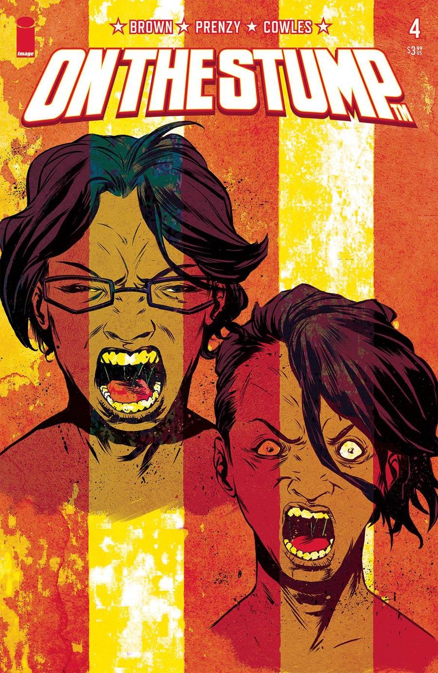 On The Stump #4 Cover B Variant Sanford Greene Cover