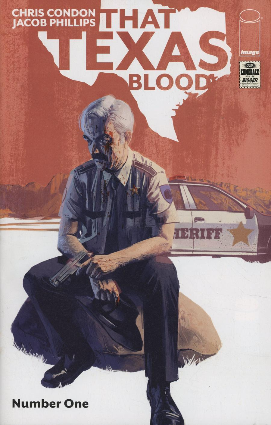 That Texas Blood #1 Cover A 1st Ptg Regular Jacob Phillips Cover