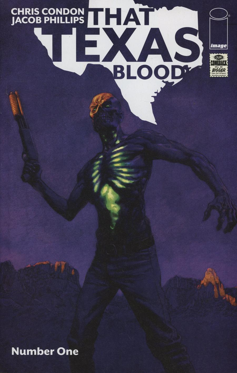 That Texas Blood #1 Cover B Variant Sean Phillips Cover