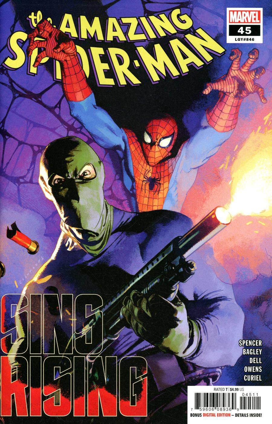 Amazing Spider-Man Vol 5 #45 Cover A Regular Josemaria Casanovas Cover