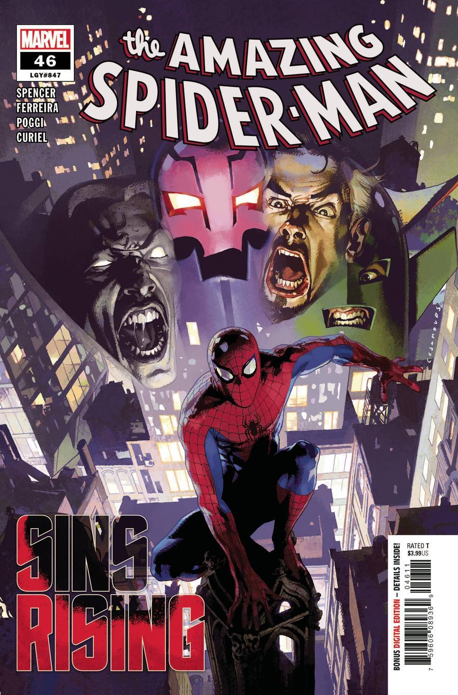 Amazing Spider-Man Vol 5 #46 Cover A Regular Josemaria Casanovas Cover