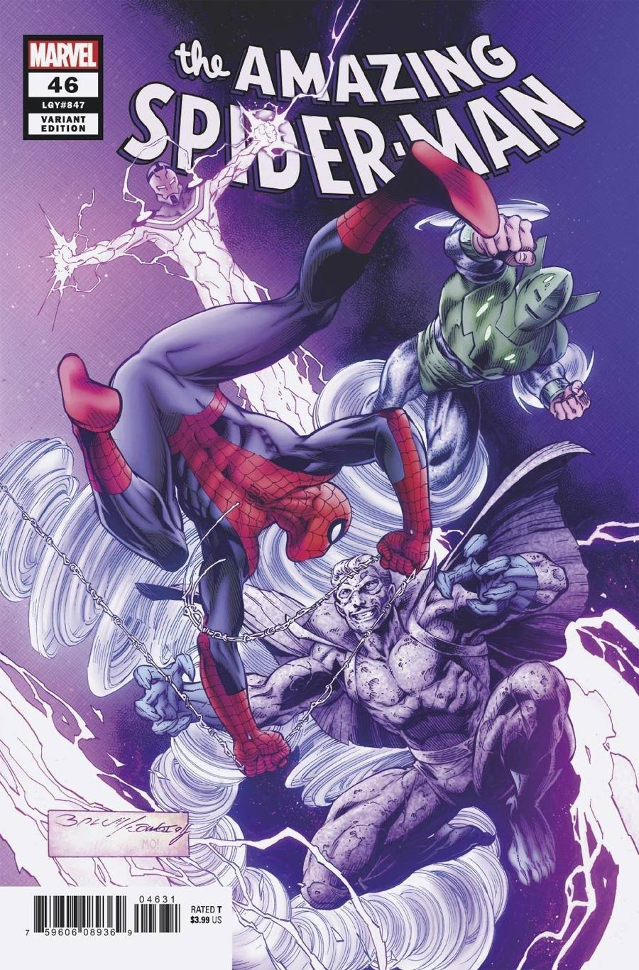Amazing Spider-Man Vol 5 #46 Cover B Variant Mark Bagley Cover