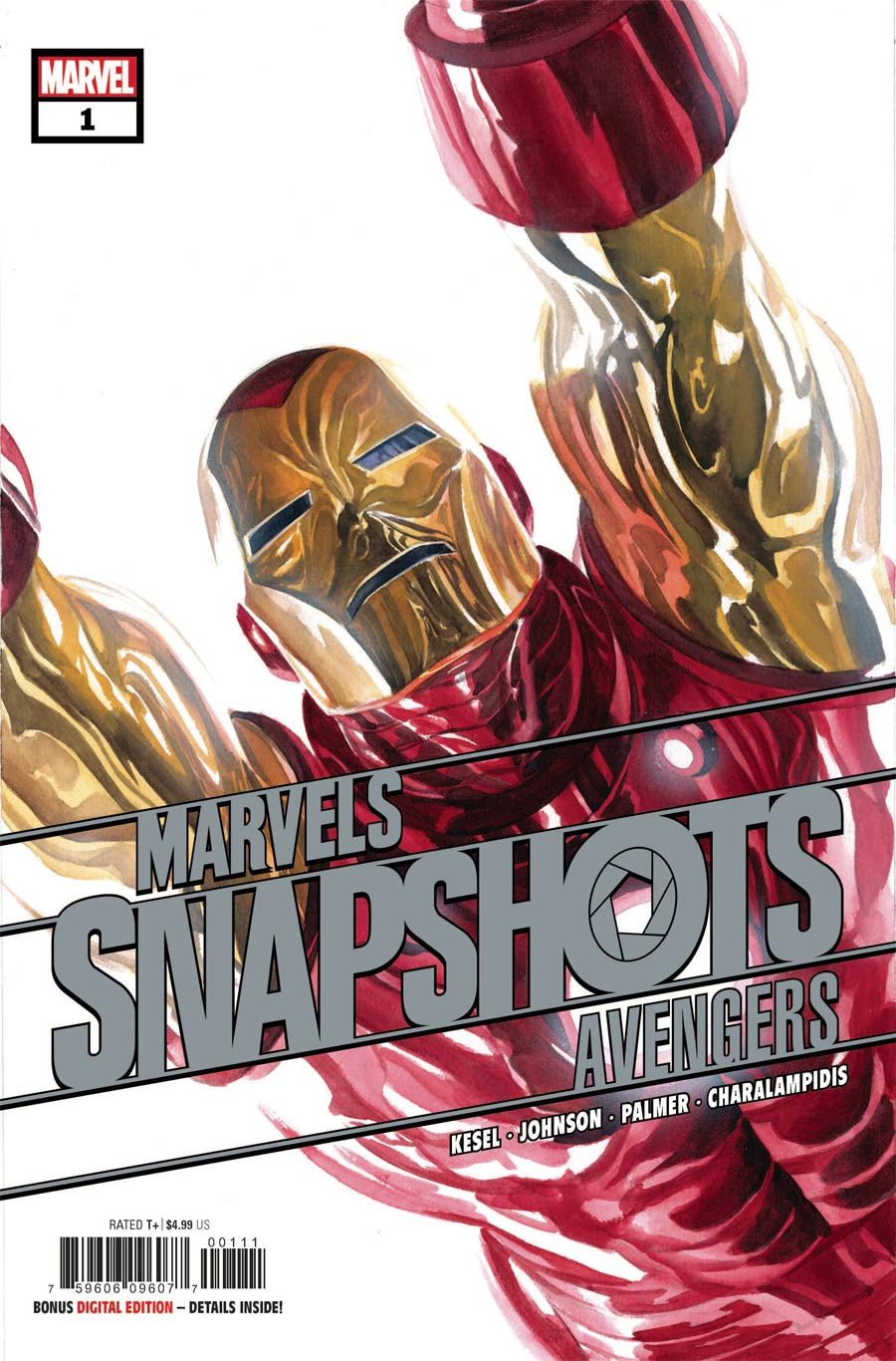 Avengers Marvels Snapshots #1 Cover A Regular Alex Ross Cover