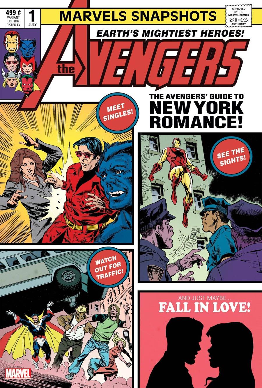 Avengers Marvels Snapshots #1 Cover B Variant Staz Johnson Cover