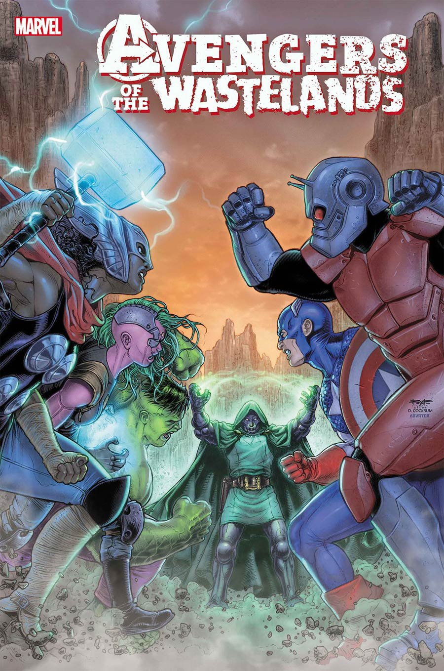 Avengers Of The Wastelands #5 Cover A Regular Juan Jose Ryp Cover