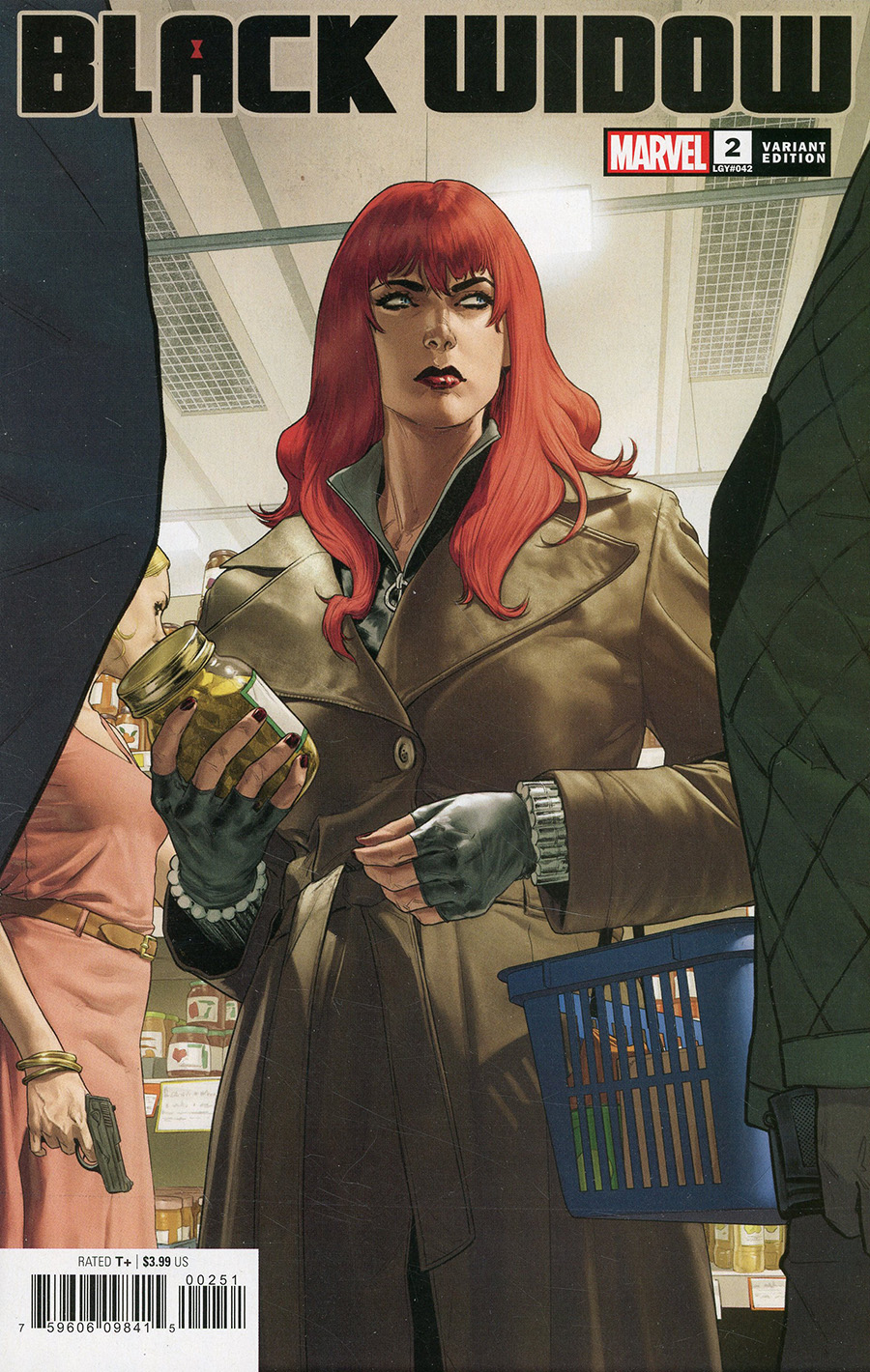 Black Widow Vol 8 #2 Cover D Variant Mattia De Iulus Cover