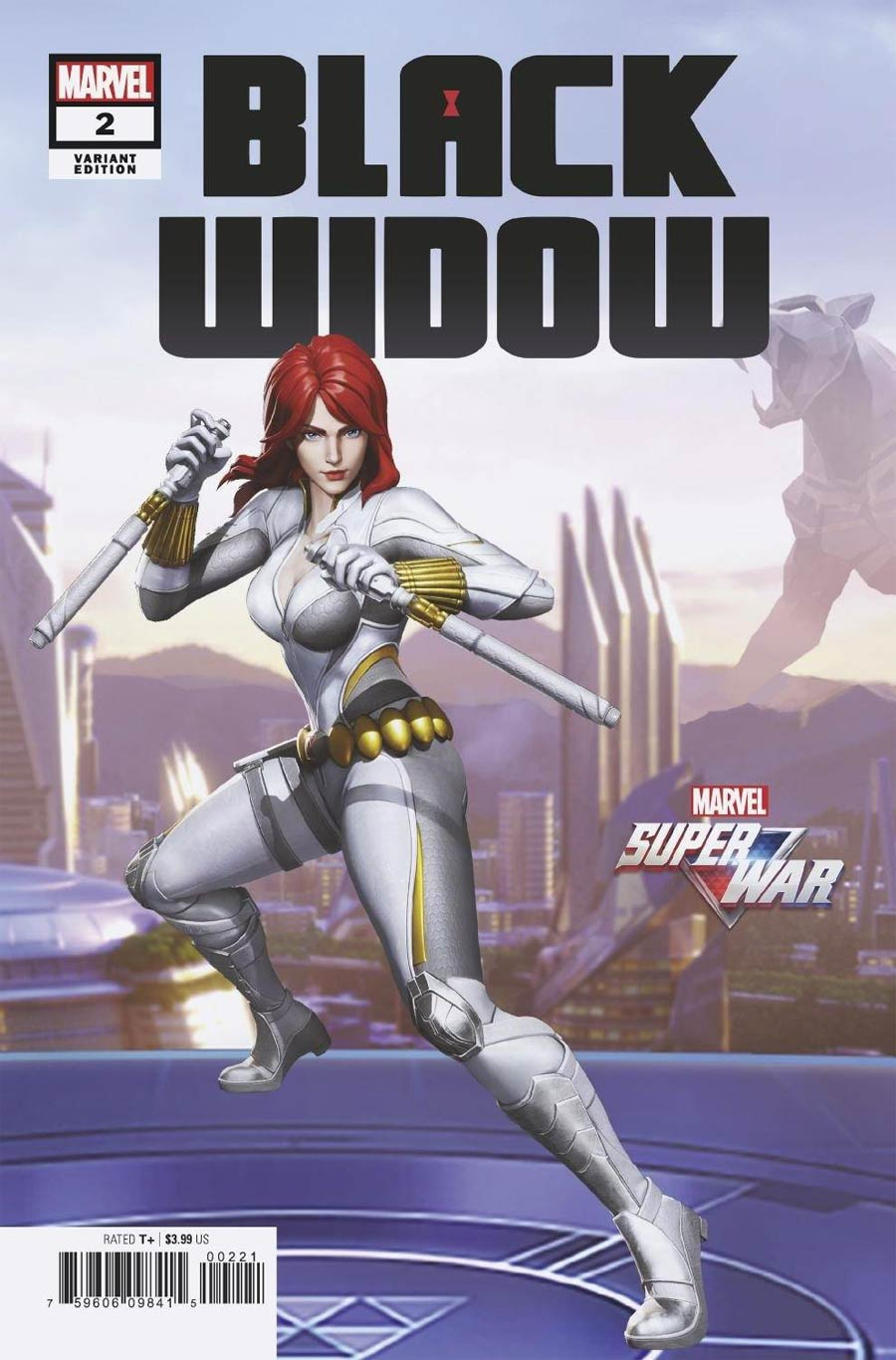 Black Widow Vol 8 #2 Cover F Variant Game Cover