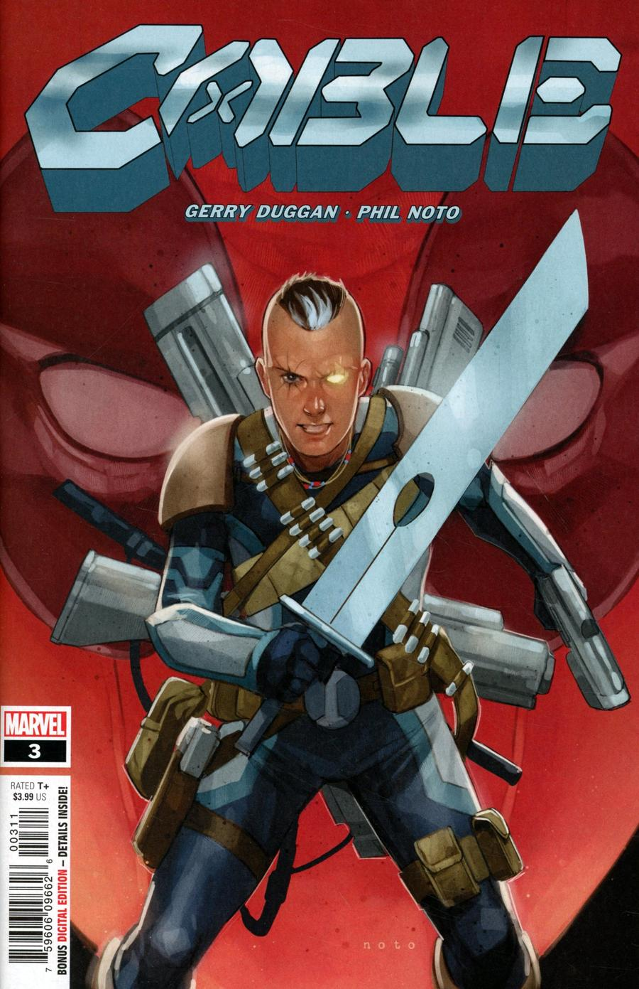 Cable Vol 4 #3 Cover A Regular Phil Noto Cover