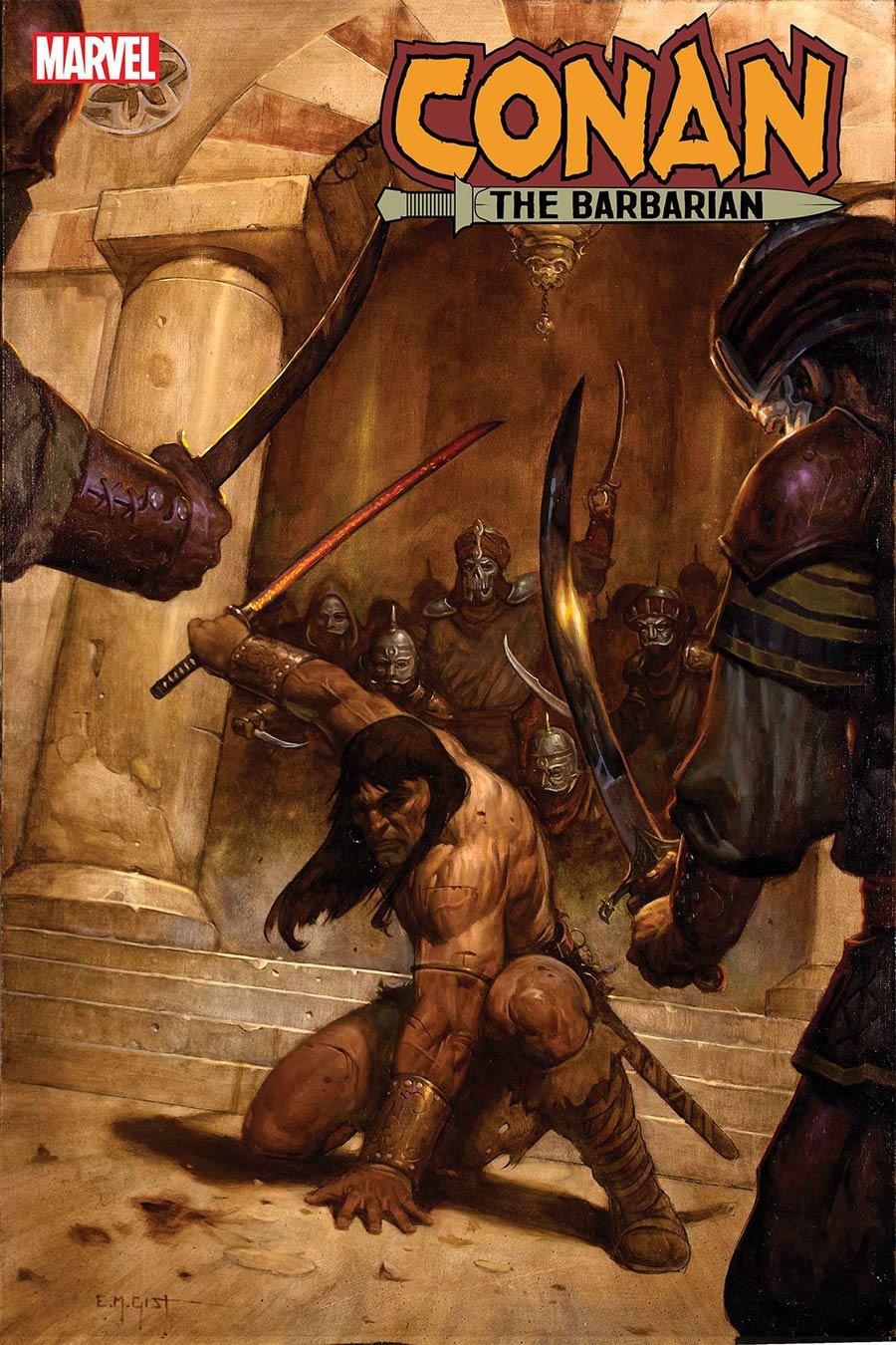 Conan The Barbarian Vol 4 #16 Cover A Regular EM Gist Cover