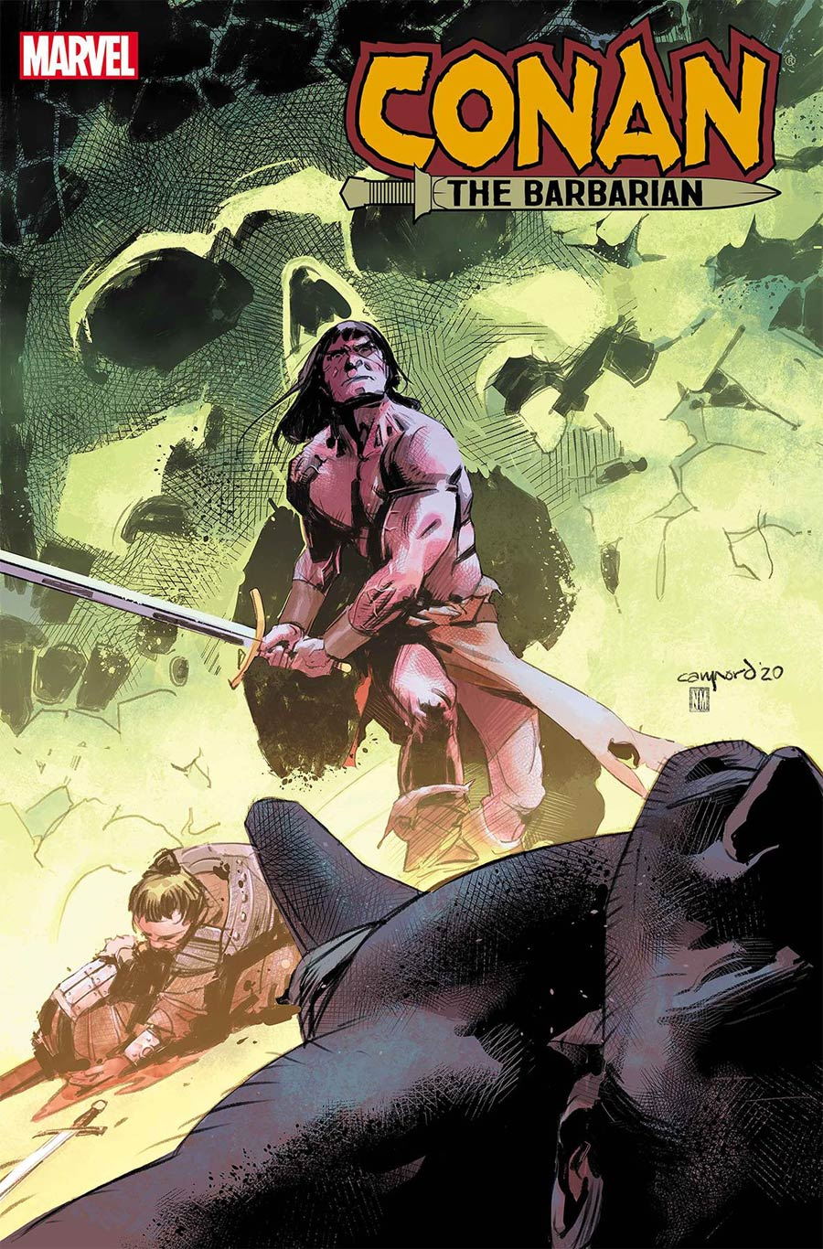 Conan The Barbarian Vol 4 #16 Cover B Variant Cary Nord Cover