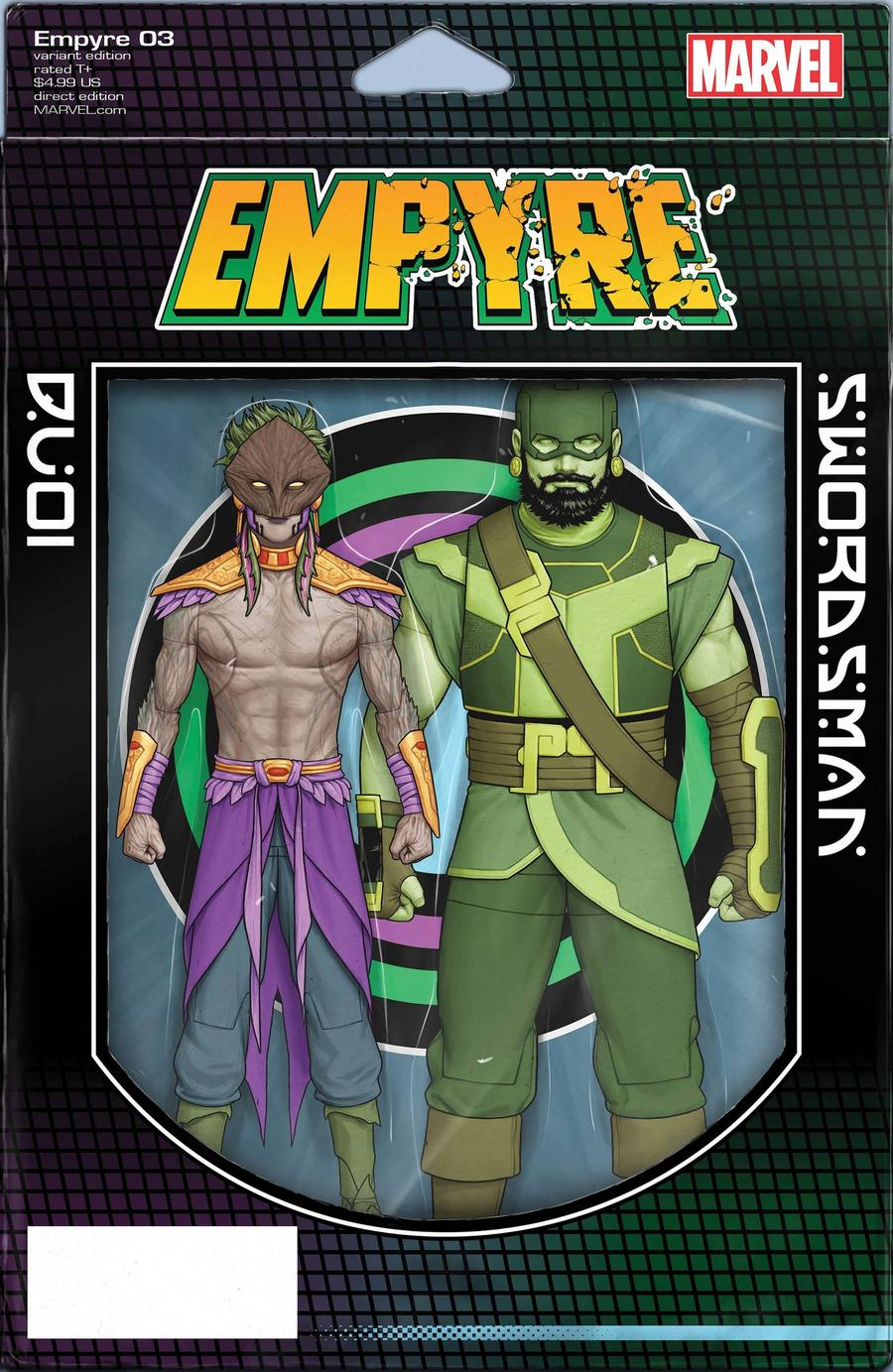 Empyre #3 Cover B Variant John Tyler Christopher 2-Pack Action Figure Cover