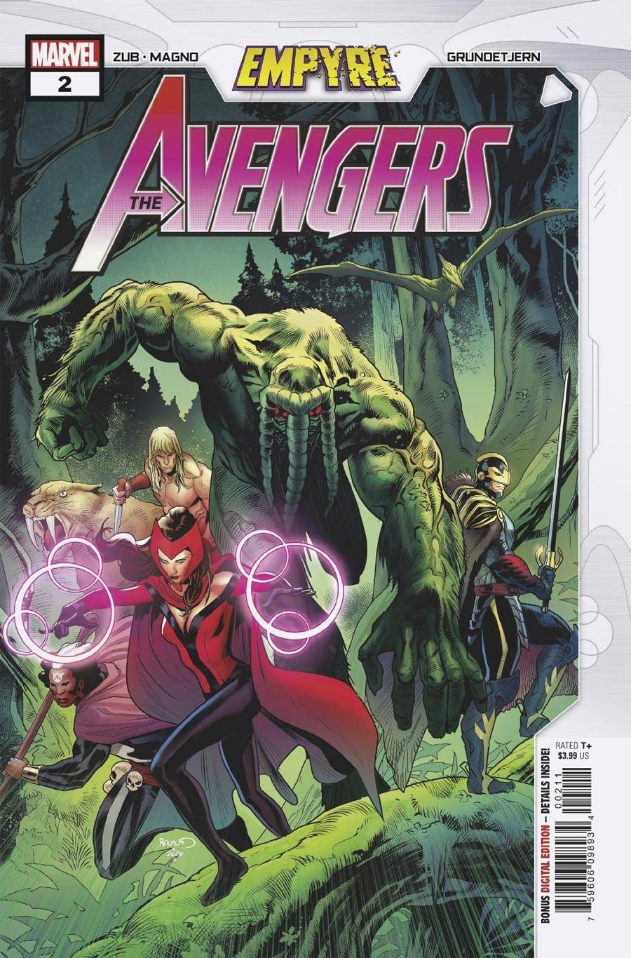Empyre Avengers #2 Cover A Regular Paul Renaud Cover