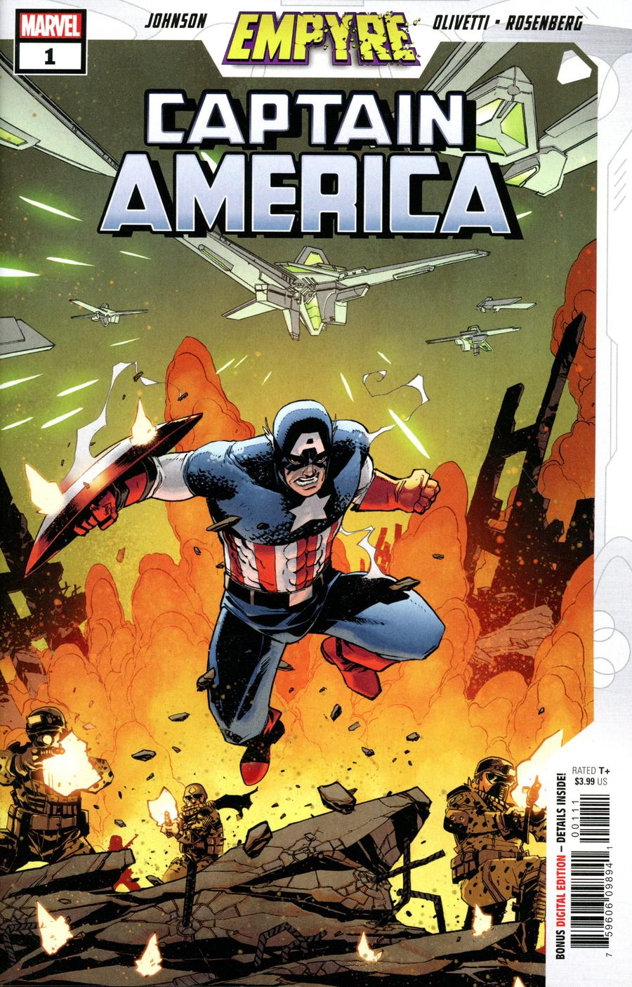Empyre Captain America #1 Cover A Regular Mike Henderson Cover