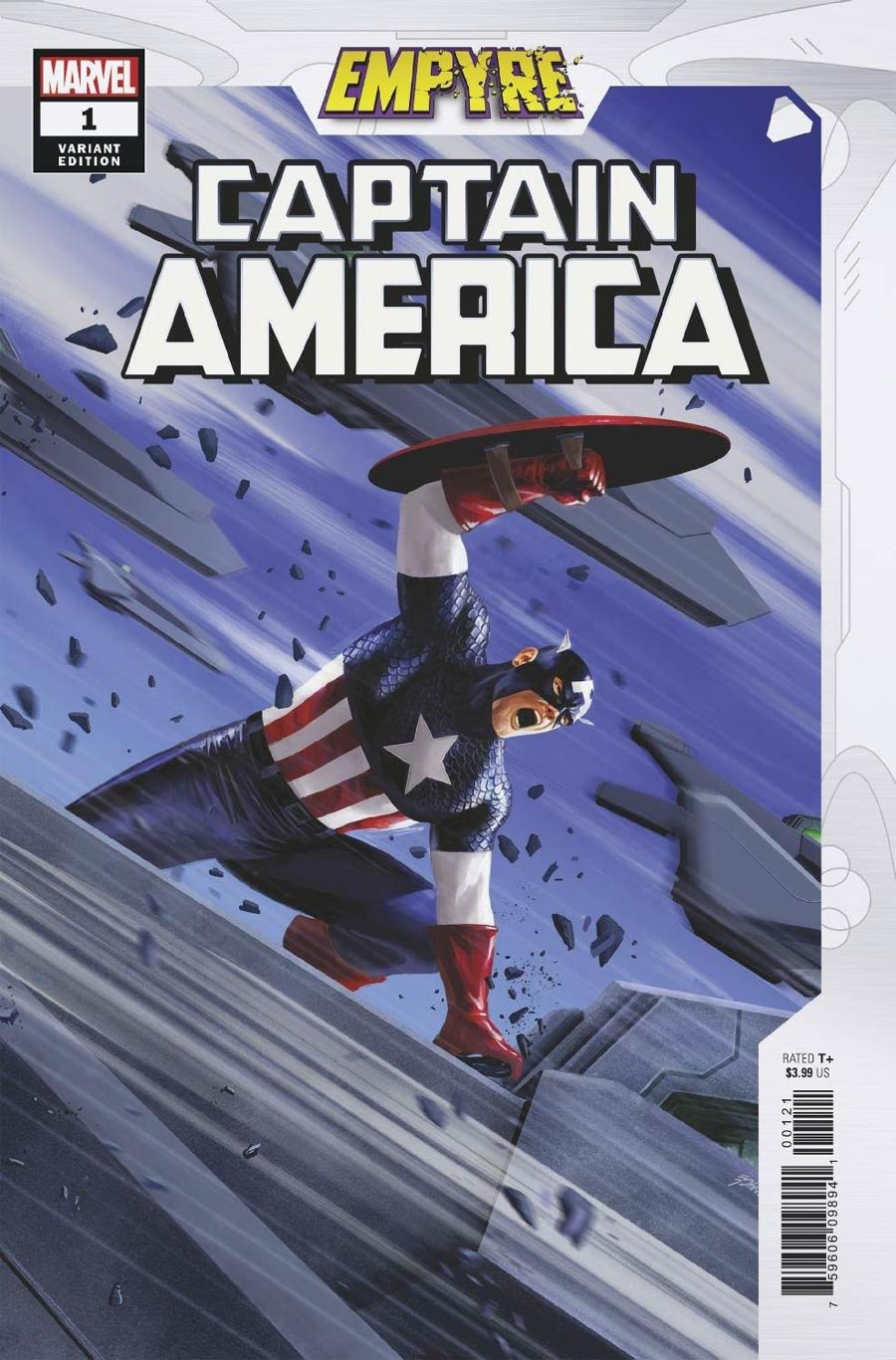 Empyre Captain America #1 Cover B Variant Steve Epting Cover