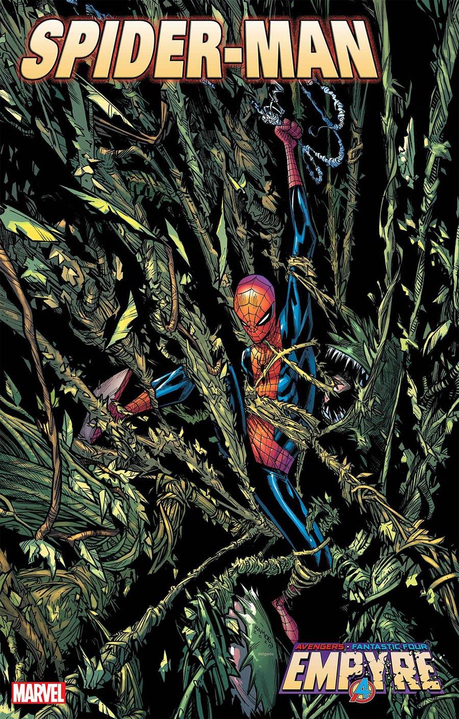 Empyre Spider-Man #2 Cover A Regular Humberto Ramos Cover