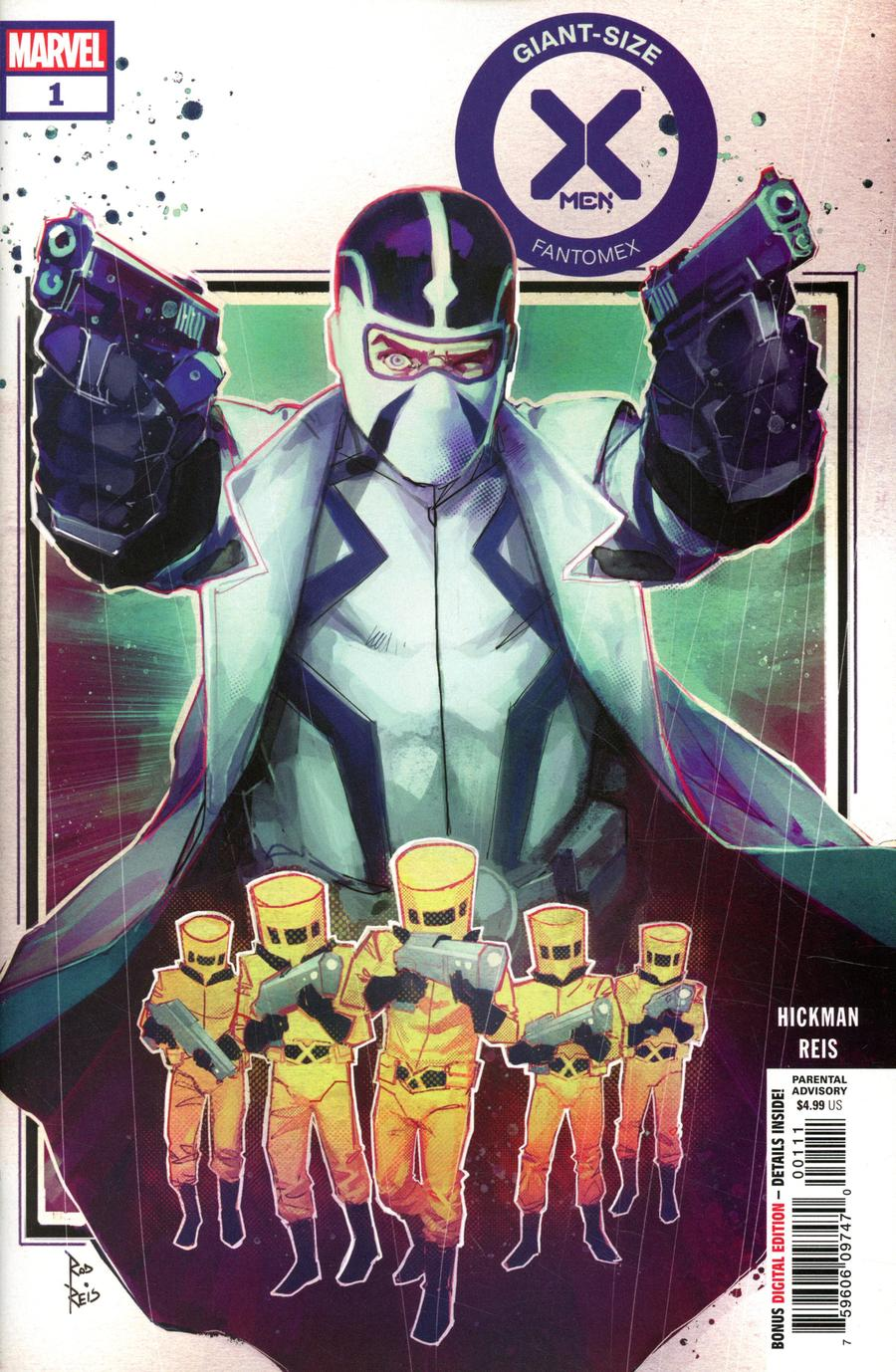 Giant-Size X-Men Fantomex #1 Cover A Regular Rod Reis Cover