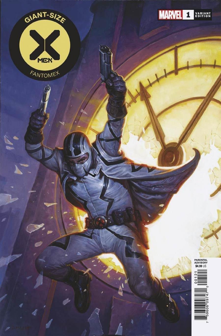 Giant-Size X-Men Fantomex #1 Cover B Variant EM Gist Cover