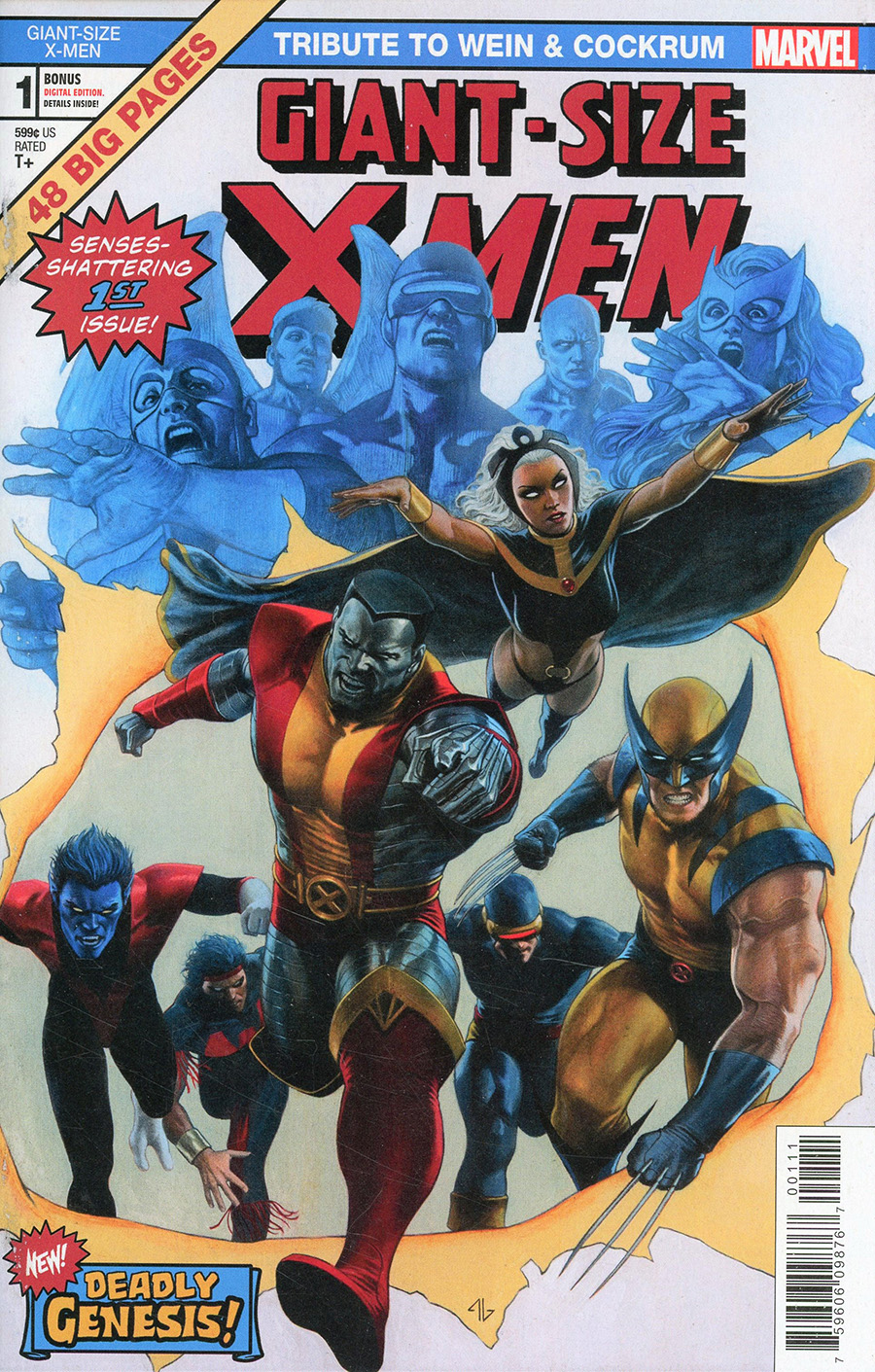 Giant-Size X-Men Tribute To Len Wein & Dave Cockrum One Shot Cover A Regular Adi Granov Cover