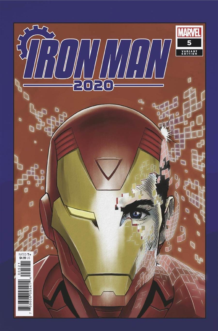 Iron Man 2020 #5 Cover B Variant Superlog Heads Cover